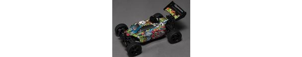 Quanum Toxic Nitro 1/10th 4wd Racing Buggy Parts