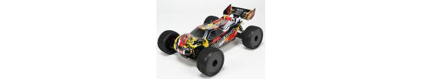 Basher Sabertooth 1/8 Parts Truggy scala
