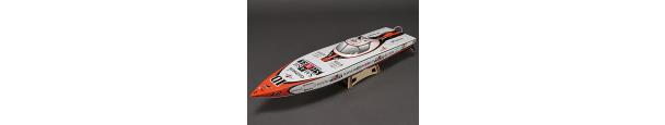 Smash Shark Fiberglass Offshore Racing Boat Parts