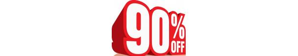 Up to 90% Discount Items