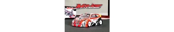 Basher BSR Racing M.RAGE 1/10 4WD M-chassis Parts