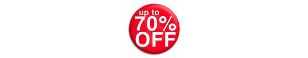 Up to 70% Discount Items