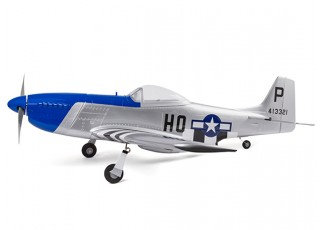 H-King Mustang P-51D side profile