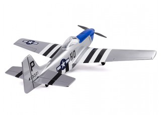 H-King Mustang P-51D full tailview