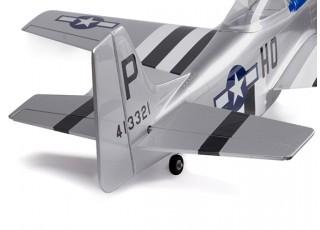 H-King Mustang P-51D tailview