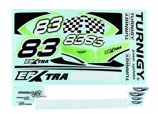 Durafly® ™ EFXtra - Sticker Set (Green)