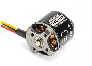 PROPDRIVE v2 2830 800KV Brushless Outrunner Motor (Short Shaft Version) with rear mounting holes