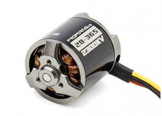 PROPDRIVE v2 2836 2300KV Brushless Outrunner Motor (Short Shaft Version)