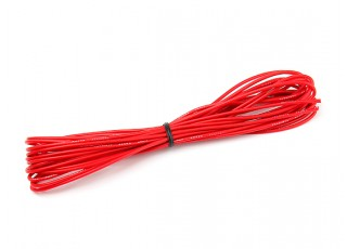 Turnigy High Quality 22AWG Silicone Wire 5m (Red)