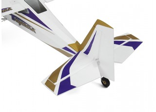 Durafly Color  Tundra 1300mm Anniversary Edition (Purple/Gold) (PnF) - tail