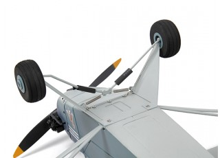 H-King J3 Navy Cub (NE-1) 1400mm (PnP) - main wheels