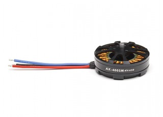 AX-4005M-650KV Brushless Outrunner Motor 4~8S (CCW) - full -view