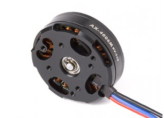 AX-4006M-530KV Brushless Outrunner Motor 4~5S (CW) - back