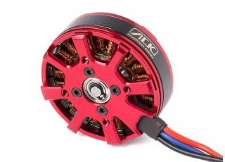 ACK-4006CQ-550KV Brushless Outrunner Motor 4~5S (CCW) - bottom