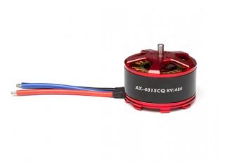 ACK-4015CQ-480KV Brushless Outrunner Motor 4~8S (CW) - full view
