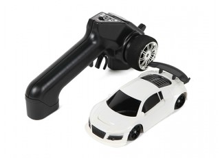 Mini-Q Sport 1:28 RC AWD Touring Car (RTR) (White) - package