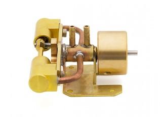 Twin Cylinder Steam Engine (Live Steam) side