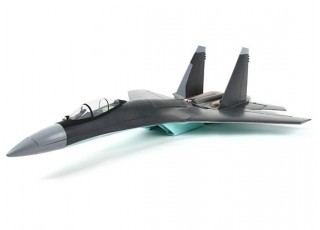 """SU-35 MkII Fighter Jet 735mm (29"""") EPO (PnP) - left side view"""