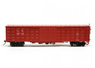 P64K Box Car (Ho Scale - 4 Pack) Side