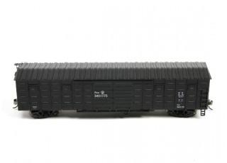 P64K Box Car (Ho Scale - 4 Pack) (Black Set 3) side