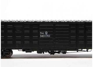 P64K Box Car (Ho Scale - 4 Pack) (Black Set 3) 3