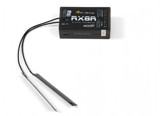 FrSKY RX8R 2.4GHz ACCST 8/16ch Telemetry Redundancy Receiver w/ SBus Port (Standard Version)