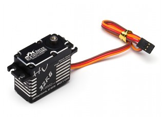 JX BLS-HV7132MG High Voltage Brushless Metal Gear High Torque Servo 32.5kg/0.07sec/71g with lead