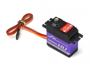JX CLS6027HV Coreless Metal Gear High Torque Digital Servo 27.4kg/0.09sec/60g with lead