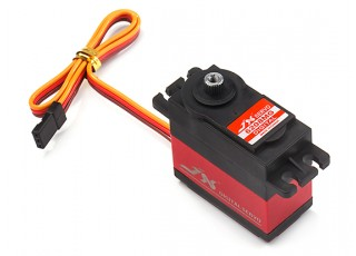 JX PDI-6208MG Coreless Metal Gear Digital Servo 8.2kg/0.07sec/62g with lead