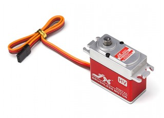 JX BLS-HV7025MG Brushless Metal Gear High Torque Digital Servo 25.3kg/0.12sec/70.1g with lead