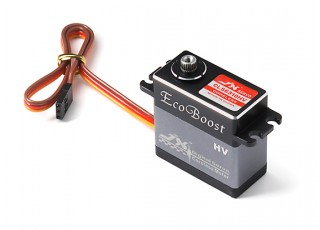 JX CLS6310HV Coreless Metal Gear High Speed Digital Servo 9.35kg/0.035sec/63g with lead