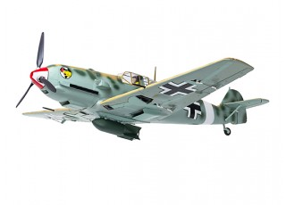 "Durafly™ Messerschmitt Bf.109E-4 Desert Scheme 1100mm (43.3"") (PnF) - underneath"