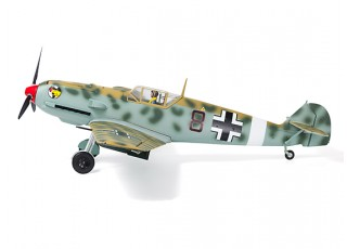"Durafly™ Messerschmitt Bf.109E-4 Desert Scheme 1100mm (43.3"") (PnF) - side wheels"