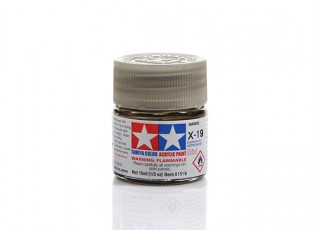 Tamiya X-19 Gloss Smoke Mini Acrylic Paint (10ml)
