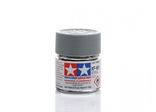 Tamiya XF-66 Flat Light Grey Mini Acrylic Paint (10ml)