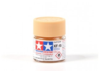 Tamiya XF-15 Flat Flesh Acrylic Paint (10ml)