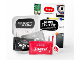 Sugru™ Hacks For Your Home Kit (4 x 5g) Contents