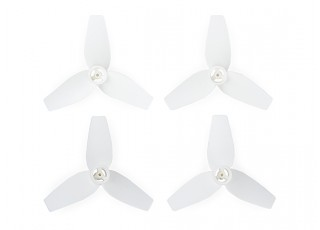 Cheerson CX-95S - 3-Blade 40mm Propellers (2xCW, 2xCCW) (White)