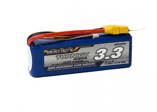 Turnigy Heavy Duty 3300mAh 3S 60C Lipo Pack w/XT-90