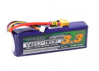 Turnigy nano-tech 3300mAh 4S 25~50C Lipo Pack w/XT-60