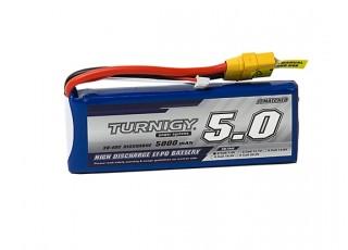 Turnigy 5000mAh 2S 30C Lipo Pack w/XT-90