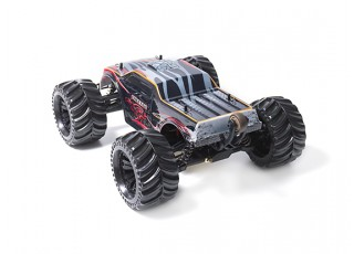 JLBRacing Cheetah 1/10 4WD Brushless Off-road Truggy (RTR) - rear left