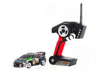WL Toys K989 1:28 Scale Rally Car (RTR) package