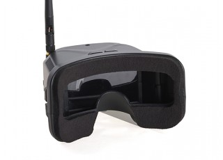 FPV Micro Box FPV Goggles - rear view