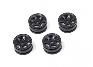 Orlandoo OH32A02 4WD 1/35 Pajero Crawler - Black 6 Spoke Rims (4pcs)