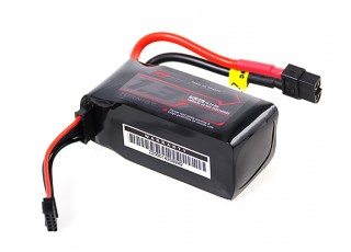 Turnigy Graphene 1300mAh 4S 65C Lipo Pack w/XT60 (Removable Balance Plug) - with plug