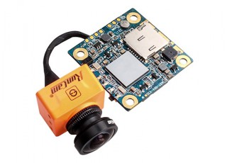 RunCam Split 2 HD/FPV Camera with Wifi Module Side view Top