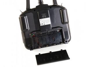Turnigy T6A-V2 AFHDS 2.4GHz 6Ch Transmitter w/Receiver V2 (Mode 2) - battery area