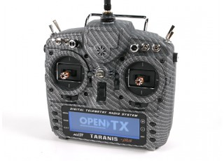 FrSky 2.4GHz ACCST TARANIS X9D PLUS Special Edition (M2) (International) (Carbon Fiber) (US Plug) top