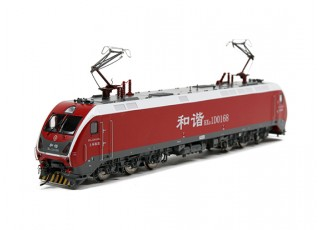 HXD1D Electric Locomotive Red HO Scale (DCC Equipped) No.2 1